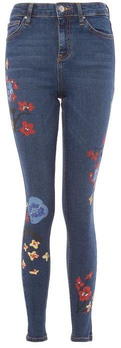 TopshopTopshop Moto floral jamie jeans