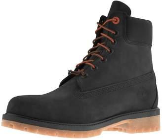 Timberland Premium 6 Inch Waterproof Boots Black