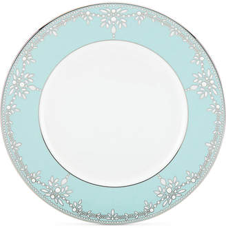 Marchesa by Lenox Empire Pearl Turquoise Bone China Dinner Plate