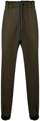Sacai drawstring track trousers