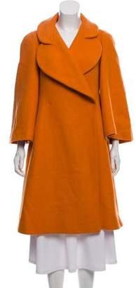Sonia Rykiel Knee-Length Wool Coat