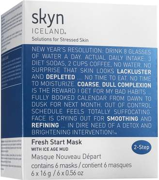 Skyn Iceland 6 Pack Fresh Start Masks