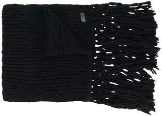 Saint Laurent chunky knit scarf