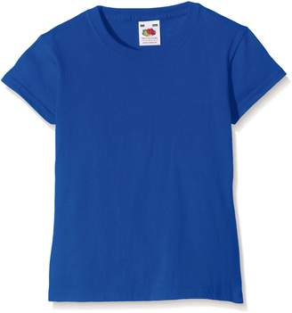 Fruit of the Loom Girls Childrens Valueweight Short Sleeve T-Shirt