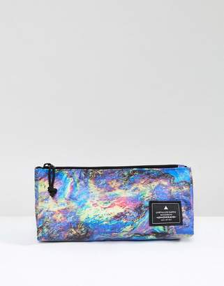 Asos (エイソス) - ASOS Pencil Case With Multi Color Oil Print