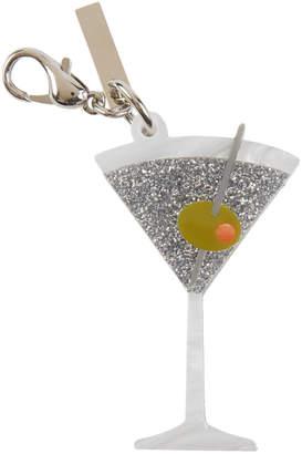 Edie Parker Martini Glass Bag Charm