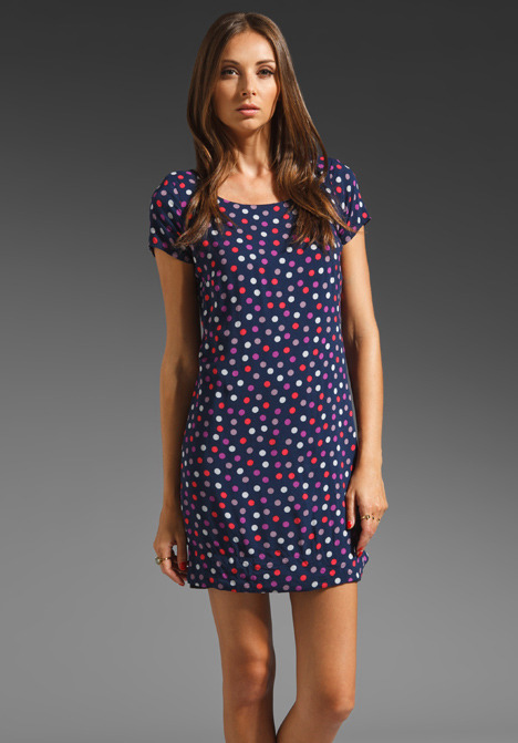Splendid Mod Dot Shift Dress