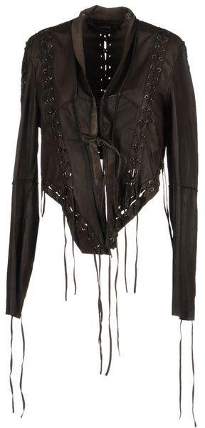 Muu Baa MUUBAA Leather outerwear