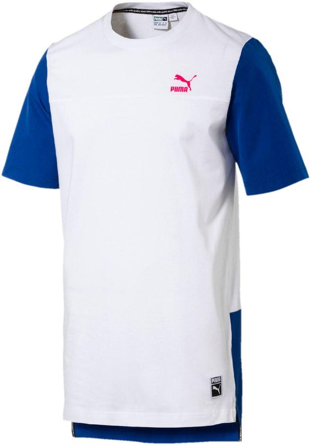 Colorblock Image T-Shirt