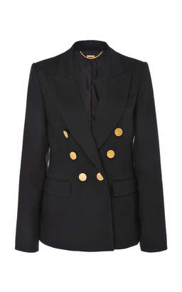 ADAM by Adam Lippes Double Breasted Crepe Blazer