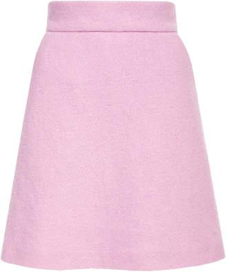 c1b3a3a98 Lilli Jahilo Arctic Wool Boucle Mini Skirt