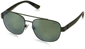 Polo Ralph Lauren Men's 0ph3119 0PH3119 Non-polarized Iridium Square Sunglasses