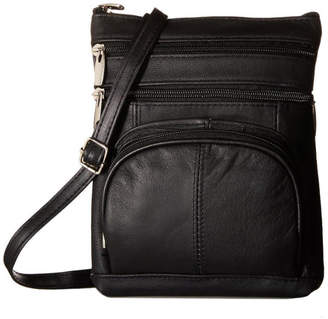 Afonie Leather Crossbody Purse