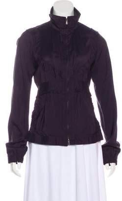 Saint Laurent Long Sleeve Zip-Up Jacket