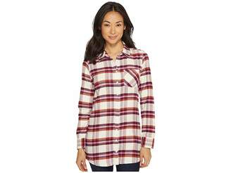Mountain Khakis Penny Plaid Tunic Shirt Women's Blouse