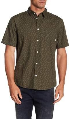 Quiksilver Variable Short Sleeve Print Regular Fit Shirt