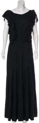 Heidi Merrick Ruffled Maxi Dress