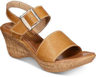 Callisto Shelton Platform Wedge Sandals, Created for Macy's Women's Shoes