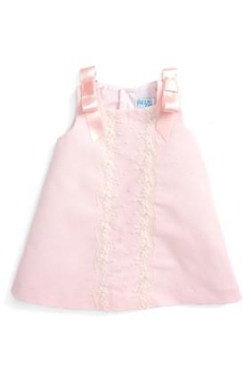 Infant Girl's Luli & Me Faldon Lace Dress $76 thestylecure.com
