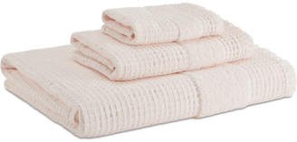 Kassatex Maison Cotton Reversible Textured Bath Towel Bedding