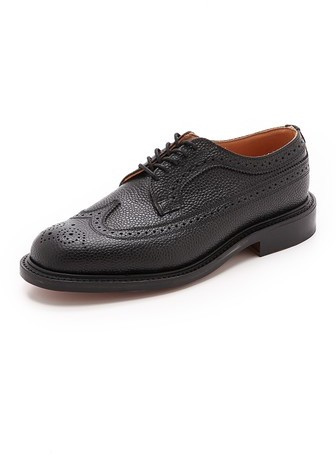 Mark McNairy New Amsterdam Longwing Brogue Shoes