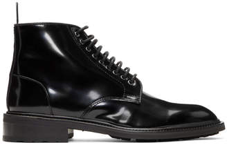 Tiger of Sweden Black Patent Didcot Boots