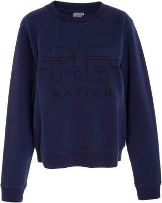 P.E Nation Swingman Cotton Sweatshirt