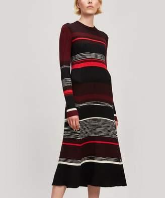 Proenza Schouler Long Sleeve Ribbed Dress