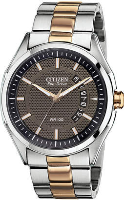 DRIVE FROM CITIZEN ECO-DRIVE Drive from Citizen Eco-Drive Mens Two-Tone Watch AW1146-55H
