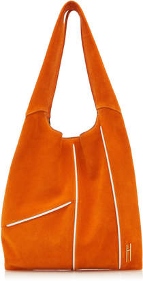 Hayward Grand Two-Tone Suede Tote