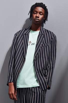 Urban Outfitters Preppy Stripe Blazer Jacket