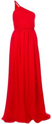 Lanvin one shoulder evening gown