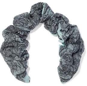 Emilio Pucci Floral-Print Cashmere And Silk-Blend Gauze Scarf