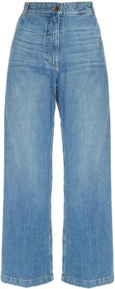 RACHEL COMEY Bishop wide-leg cropped jeans $345 thestylecure.com