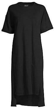 Eileen Fisher Women's Stretch Organic Cotton Tee Dress