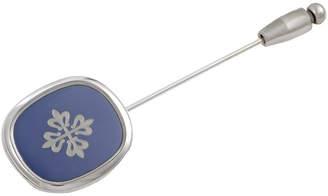 Patek Philippe Heritage  18K White Gold Pin