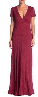 Show Me Your Mumu Eleanor Lace V-Neck Maxi Dress