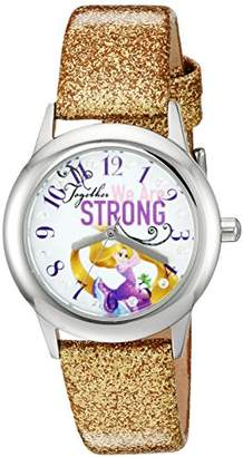 Disney The Princess & The Frog Kids' W002963 Rapunzel Analog Display Analog Quartz Watch