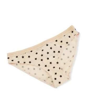 Stella McCartney Betty Twinkling Star-Print Bikini Briefs