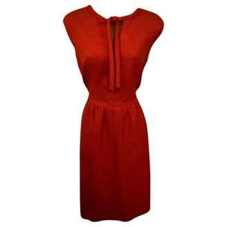Jaeger Red Wool Dress for Women