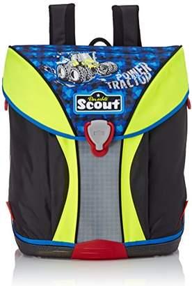 Scout Schoolbag Set, Blau/Gelb (Blue) - 71500791400
