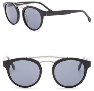 Joe's Jeans 48mm Clubmaster Sunglasses