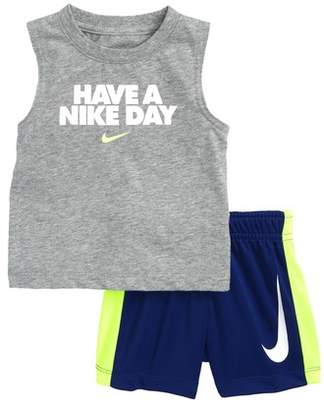 Nike Have a Day Tank Top & Shorts Set