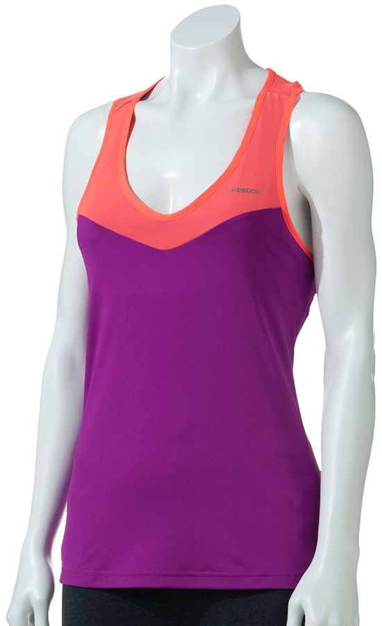 Reebok Sport Essentials Outlaced Play Dry Tennis Tank