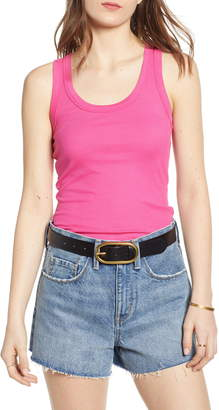 392c3a63707d7 Ribbed Racerback Tank Tops - ShopStyle