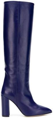 Paris Texas knee-length pointed boots