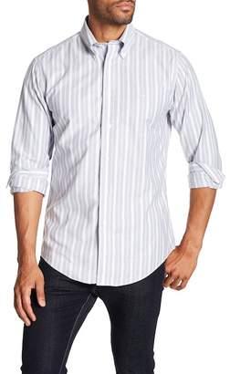 Brooks Brothers Oxford Sail Stripe Sport Fit Shirt