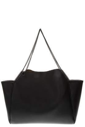 Stella McCartney Reversible Black/yellow Falabella Tote Bag