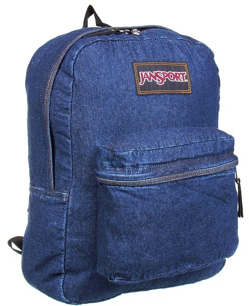 JanSport Denim Daze (Blue Denim) - Bags and Luggage