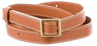 Loewe Leather Wrap-Around Belt